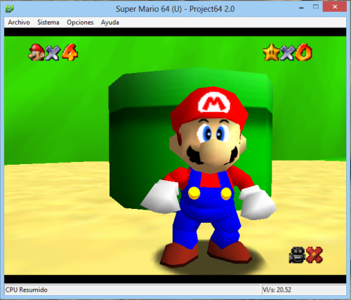 project 64 with rice video plugin
