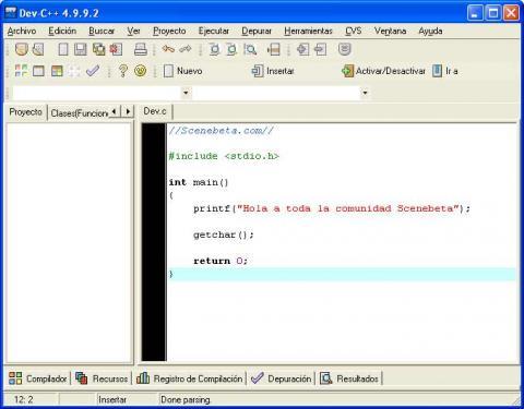 Dev-C++: Hello World