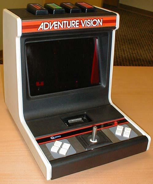 Entex Adventure Vision 1982